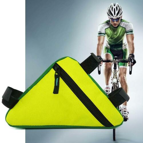 Triangle Cycling Bicycle Front Tube Frame Pouch Bag Holder Saddle Pannier Hot LJ