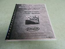Jensales Back Hoe Manual MH-0-MF2244 *FREE SHIPPING*