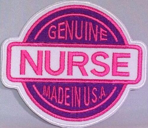 GENUINE NURSE MADE IN USA LPN RN RPN MEDICAL MILITARY MOTORCYCLE VEST PATCH FL-2