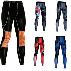 Men-Compression-Under-Tight-Long-Leggings-Base-Layer-Pants-Gym-Sports-Trousers