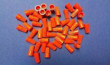 Lot Of 50 Orange Wire Connectors Twist On Conical Connector Twist On Nuts