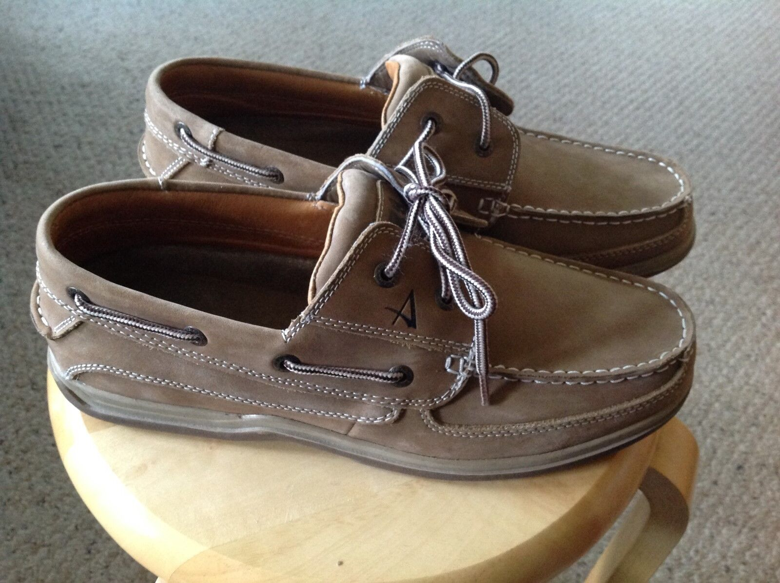 Men's Size 11M Arks Tie a Way Of Life Tie Arks Casual Shoes. TAN. Slight use, beautiful. bddeaa