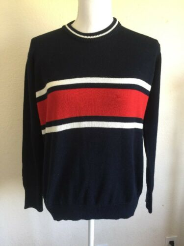 Brandy Melville oversized navy//red//white striped pull over Jayden sweater NWT