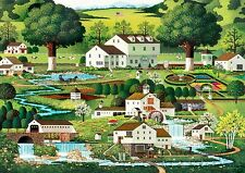 Buffalo Games Charles Wysocki: Country Gardens Jigsaw Bigjigs Puzzle 300 Large