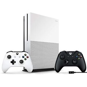 Xbox One S 1TB Console + Extra Xbox Wireless Controller and Cable for Windows