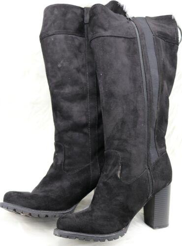 Women's Torrid Size 10 Black Faux Suede Lug Sole K