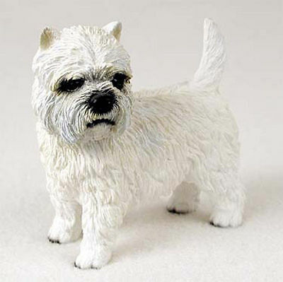 Westie Hand Painted Dog Figurine Statue
