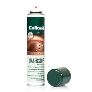 Impermeabilisant-Spray-Pour-Cuir-et-tissu-Chaussures-Vetements-Collonil-Waterst