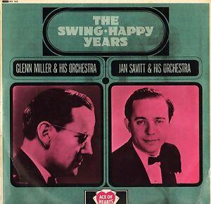 GLENN-MILLER-JAN-SAVITT-the-swing-happy-years-AH-143-uk-ace-of-hearts-LP-PS-EX-V