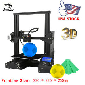Details about Creality 3D Ender-3 High-precision DIY 3D Printer Kit Resume  Printing Function