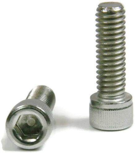 #8-32 Socket Cap Screws Allen Bolts Stainless Steel Screws QTY 25