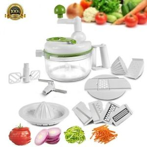 Image Is Loading DELUXE Multi Functional Food Processor Vegetable Fruit Egg