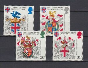 s16717-UK-GREAT-BRITAIN-MNH-1984-Coat-of-arms-4v