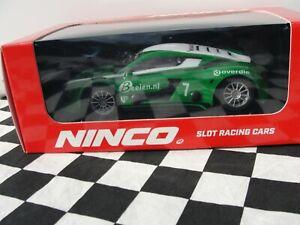 NINCO-RENAULT-RS-7-GREEN-WHITE-50664-1-32-SLOT-BNIB
