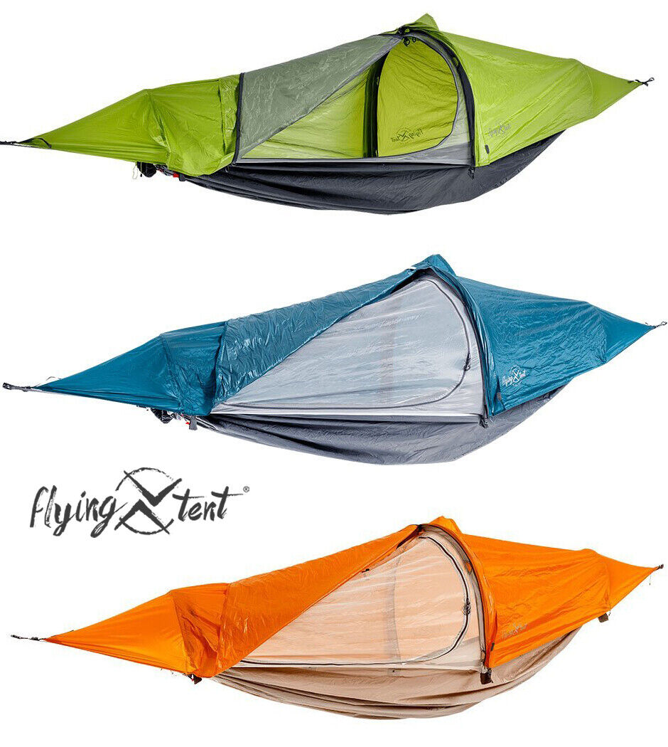 Flying Tent Amaca Tenda da Trekking Campeggio Schwebezelt Bivacco Poncho