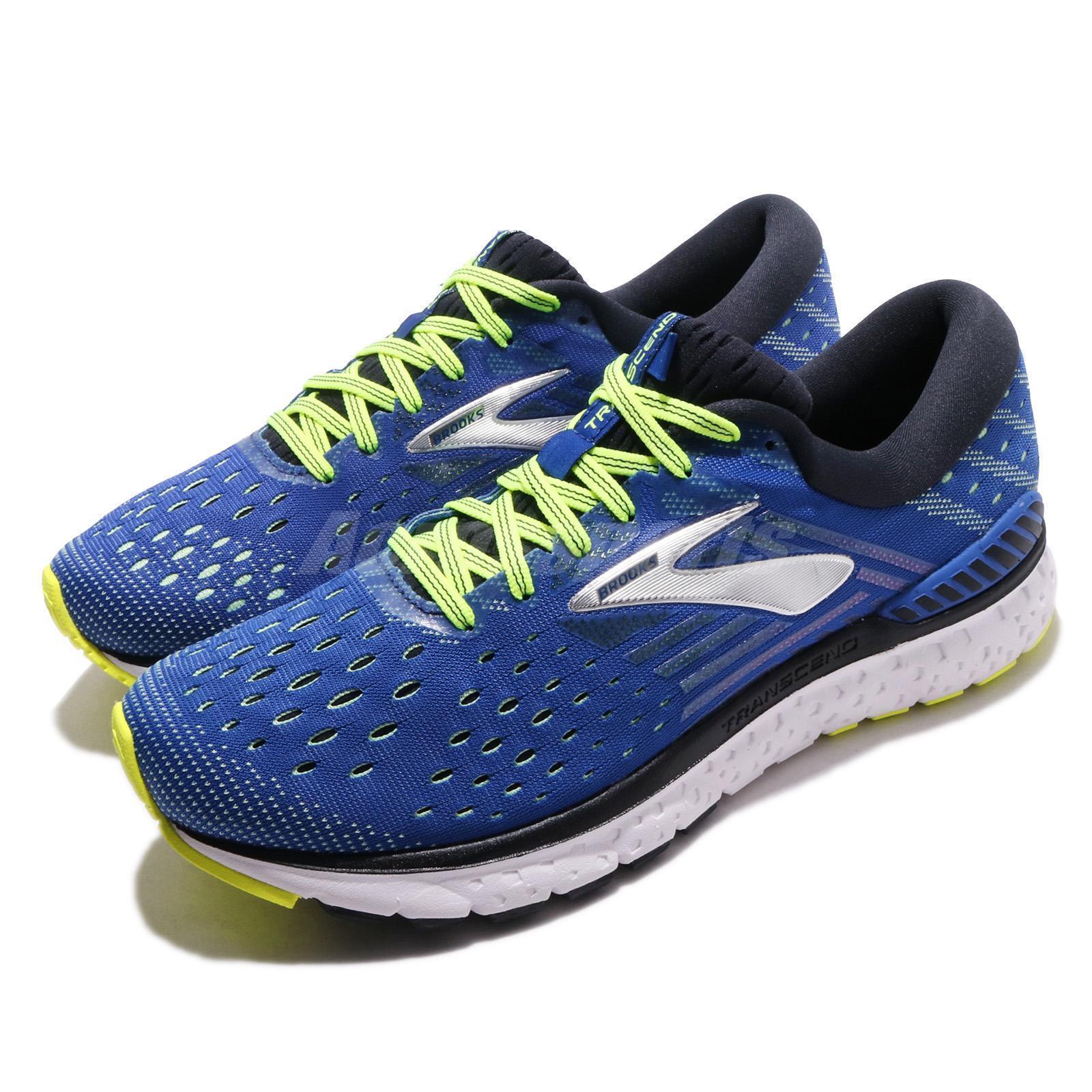 Brooks Transcend 6 blu nero nero nero Nightlife Men Running scarpe scarpe da ginnastica 110299 1D | Buona qualità  d5cbd6
