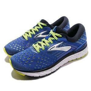 90a3e520e09 Brooks Transcend 6 Blue Black Nightlife Men Running Shoes Sneakers ...