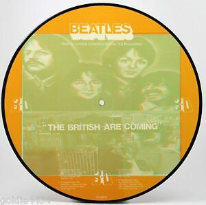 THE-BEATLES-The-British-Are-Coming-3D-Picture-Disc-VINYL-Album-Record-PD83010