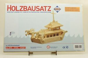 Pebaro 875 Holzbausatz Drachenboot NEU und OVP