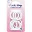 Anillos De Cortina De Plástico dobladillo blanco Tiebacks 15,19,25 y 32mm