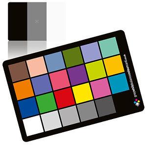 2-in-1-Grey-White-Balance-Colour-Card-The-6x4-Matt-Plastic-Card