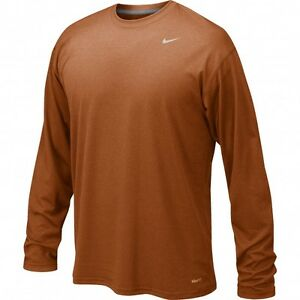 c729cbadc96b NWT Nike Men s Dri-Fit Legend Poly Long Sleeve Tee Shirt Size S ...