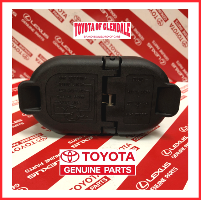 2016-2019 toyota tacoma,2009-19 tundra tow hitch wire harness connector  genuine