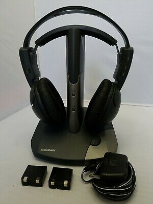 Radio Shack 2.4 digital Wireless Rechargeable Stereo ... |Radioshack Wireless Headphones