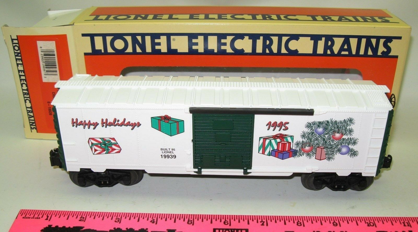 Lionel NOS in box 1995 Employee X-mas car 6-19939