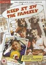 KEEP IT IN THE FAMILY - Series 1. Robert Gillespie, Pauline Yates (DVD 2010)