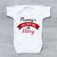 miniature 1 - Mummy's Valentine Personalised Baby Grow Bodysuit Vest Valentine's Day Valentine