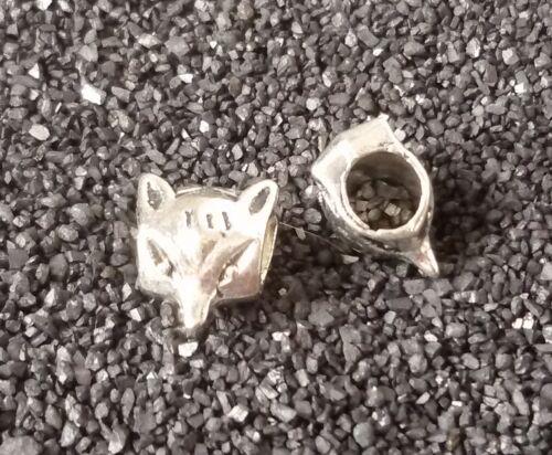 5//10//20//30 Fuchs Beads Großloch Perlen Paracord Armband Großlochperlen T57
