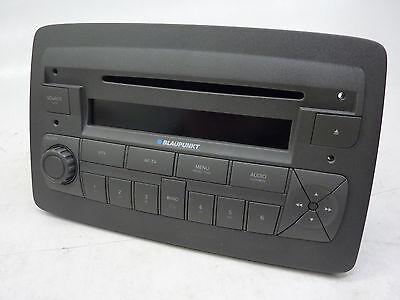 1-DIN Radioblende Fiat Panda /> 2002 schwarz