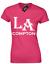 LOS ANGELES LA COMPTON LADIES T SHIRT COOL HIP HOP RAP DESIGN DRE SNOOP TOP