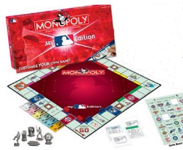 USAopoly My Major League Baseball Edition Monopoly 2006 Original Collectible