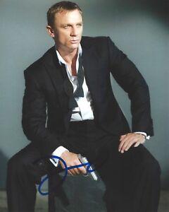 Details About Daniel Craig Signed Casino Royale 8x10 Photo Spectre 007 James Bond