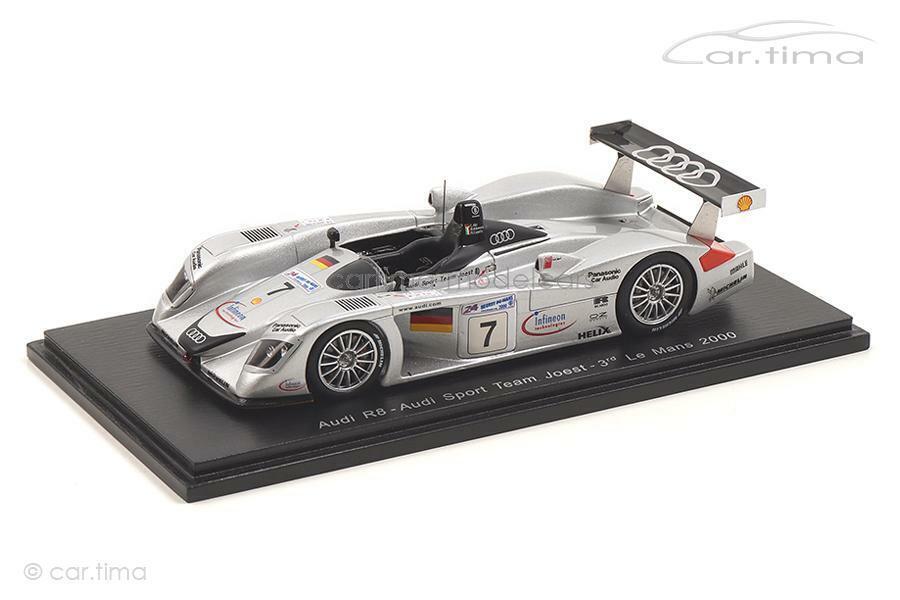 Audi R8 - 24h Le Mans 2000 - Alboreto   Capello   Abt - Spark 1 43 - S3699