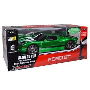 Image Is Loading Ford Gt Electric R C Car By Xstreet Green