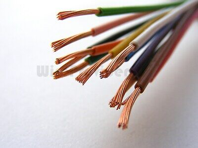 4 FREE TERMINALS FLAT TWIN CORE AUTO CABLE 5M 2 x 16//0.2 CAR VAN 11A THINWALL