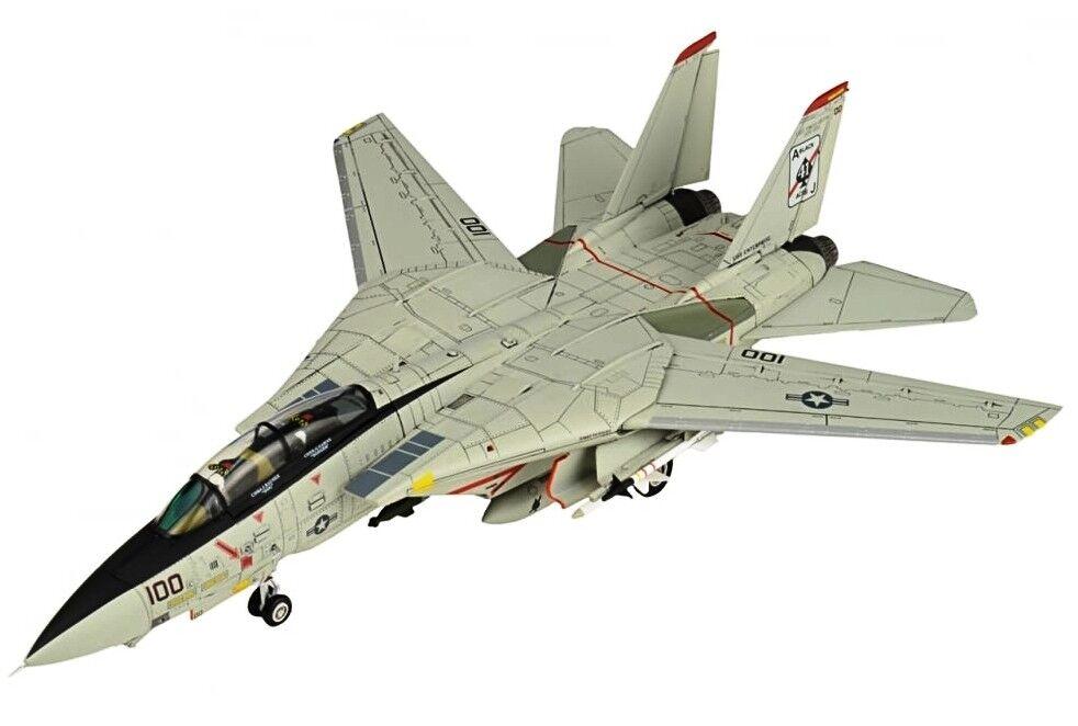 JCW72F14002 1/72 F-14 F-14 F-14 Tomcat Vf-41 Noir As Uss Entreprise Cvn-65 2001 042dab