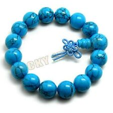 12mm Turkois Beads Tibet Buddhism Bracelet