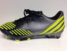 Adidas Predator LZ TRX FG, Black / Neo Iron Met. / Lab Lime Gr. 42 Fußballschuh
