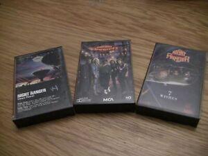 Night Ranger 3 Cassette Lot: Dawn Patrol, Greatest Hits, 7 Wishes