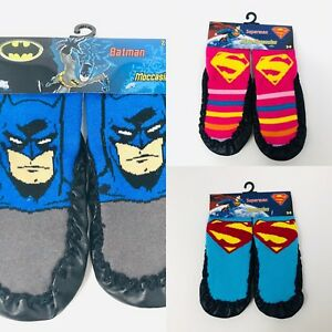 à Condition De Kids Toddler Baby Anti-slip Sock Boots Slipper Shoes Moccasin Batman Superhero