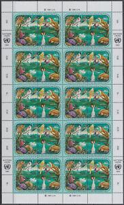 Onu Genève Ensemble Planche 194-97 Cachet-ogen 194-97 Postfrisch Saveur Pure Et Douce