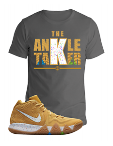 new product 3bf29 7434c Details about Kyrie 4 Matching T Shirt Cinnamon Toast Crunch Cereal Pack Sz  S M L XL up to 4XL