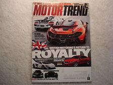 Motor Trend 2015 May Jaguar XE Land Rover Aston Martin Miata Mazda Subaru VW