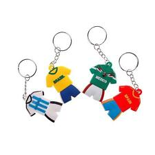 2Pcs Sale Jersey Patern Country Keychain Collectord World Cup Soccer Team