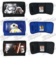 Disney Star Wars The Force Awakens Kids Tri-fold Wallets Set Of 3 Wallets