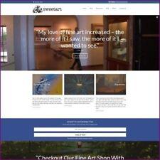 Fine Art Website Business For Sale 120000 A Sale Free Domain Hosting
